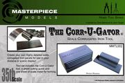 The Corr-u-gator - Makes 1/35th Corrugated sheets